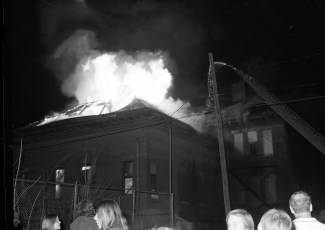 Hudson Fire St. Mary's Elementary 3rd & Allen Str. Apr. 1973 (2)