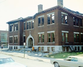 Hudson Fire St. Mary's Elementary 3rd & Allen Str. Apr. 1973 (3)