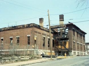 Hudson Fire St. Mary's Elementary 3rd & Allen Str. Apr. 1973 (4)