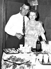 GCS Jr. Prom 1954 Mr. & Mrs. Oehlke