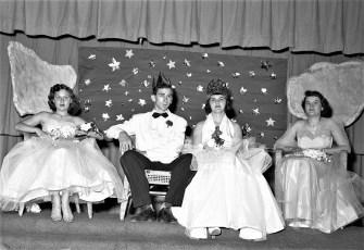 GCS Jr. Prom  1953 Ross Funk Claire Gaschel