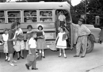 GCS 1st day of school 1961