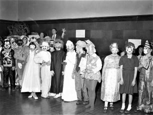 GCS Halloween Party 1960