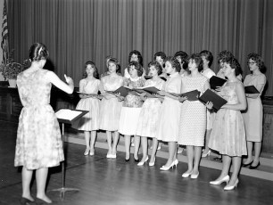 GCS High School Spring Concert 1962