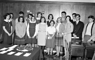 GCS Honor Society 1965