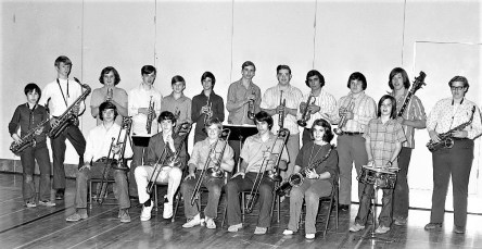 GCS Dance Band 1973