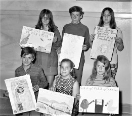GCS Garden Club Poster Contest Winners 1971