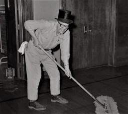Harry LaDue GCS custodian 1970