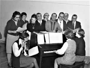 GCS Drama Workshop members 1970