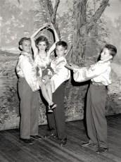Ruth Miller Dance Recital at GCS 1949