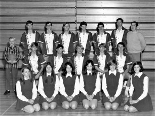 GCS 1970 Clippers & Cheer leaders