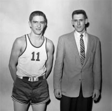 GCS 1957 Coach VanAlstyne with Reggie Gardner