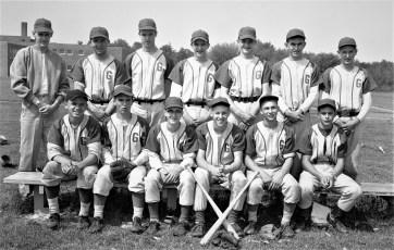 GCS 1956 Varsity Baseball Team