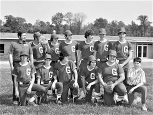 G'town Babe Ruth Team 1974