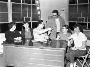 G'town Fife & Drum members organize fundraiser 1960
