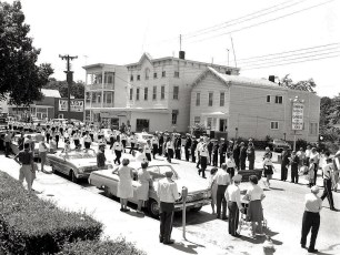 G'town Hose Co on parade 1968