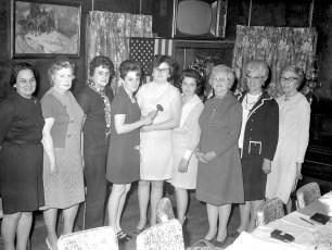 G'town Hose Co. Ladies Aux. Officers 1971