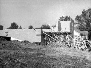G'town Hose Co. firehouse construction 1957 (1)
