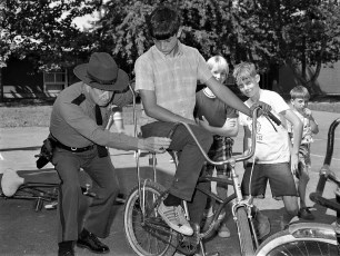 Bike Safety & Inspection by Dep. Sheriff Ted Chidester Greenport School 1972 (3)