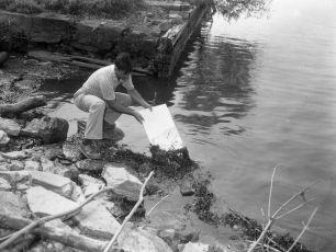 Alan Van Tassel Anchorage Dock erosion 1961 2