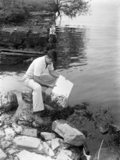 Alan VanTassel Anchorage Dock erosion 1961 1