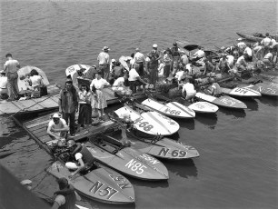 Boat Races Anchorage G'town 1947