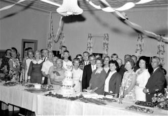 Community Gospel Church Rev. & Mrs. Duchardt's Silver Anniversary Martindale 1965