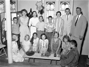 Copake Methodist Church Youth Group 1963