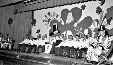 Roe Jan Lions stage show Hillsdale 1964 (2)