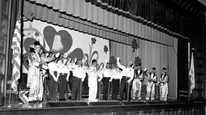 Roe Jan Lions stage show Hillsdale 1964 (3)