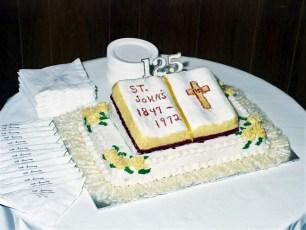 St. John's Lutheran Church 125th Anniversary Ancram 1972 (1)