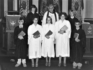 St. John's Lutheran Church Confirmation Ancram 1977