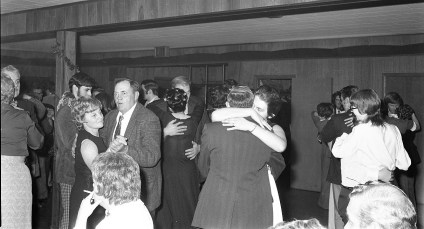 Taconic Telephone Co. Service Award Party for Clifford Sayer 1973 (4)