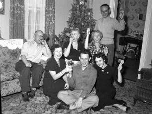 Gibson New Years Eve 1953 - 54