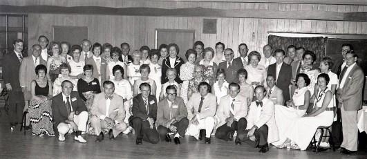 Hudson High School Class of 43 Reunion 1973