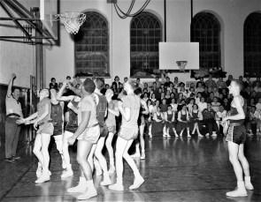 Hudson High School Varsity Basketball 1957 (6)
