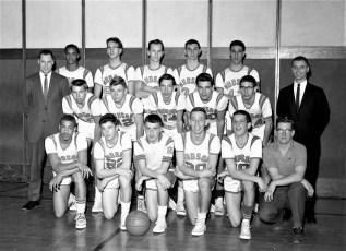 Hudson High School Varsity Basketball Team 1963