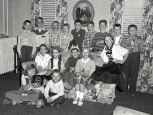Barry Couchman's 11th Birthday 1952