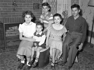 Bruno Family Livingston 1953