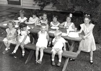 Chippy Crawford's Birthday July 1951