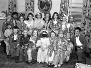 Couchman Halloween Party 1951