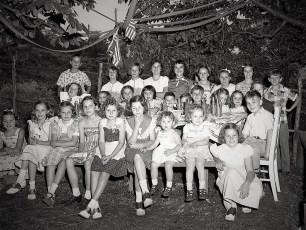 Dawn Couchman's 11th Birthday 1951