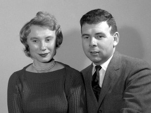 Dr. and Mrs. Shrallow 1959