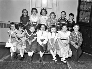 Ellie Bullard party 1954