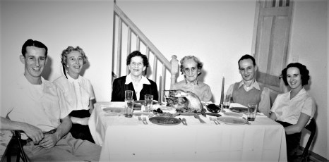 Gunther Family Thanksgiving 1955
