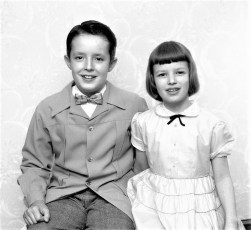 Larry & Nancy Saulpaugh 1953