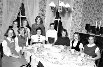 Marjorie von der Osten's Birthday Party 1955