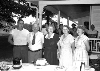 Mr. & Mrs. Luther Funk 40th Anniv. 1955