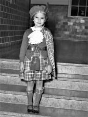 Nancy Ostoyich Halloween 1953