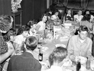 R.E. Sheffer 16th Birthday Party Linlithgo 1951 (2)